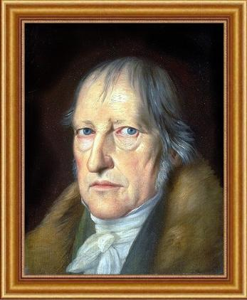 Georg Wilhelm Friedrich Hegel painted by Jakob Schlesinger